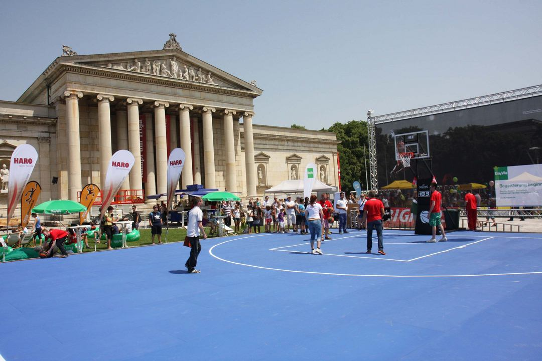 HARO Sports Flooring Outdoor Court