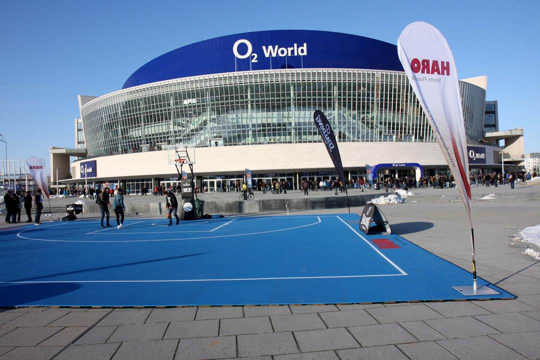 HARO Sports Flooring Outdoor O2 World Berlin