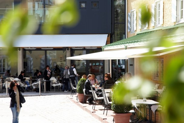 Hotel Lindners Bad Aibling - Terrasse